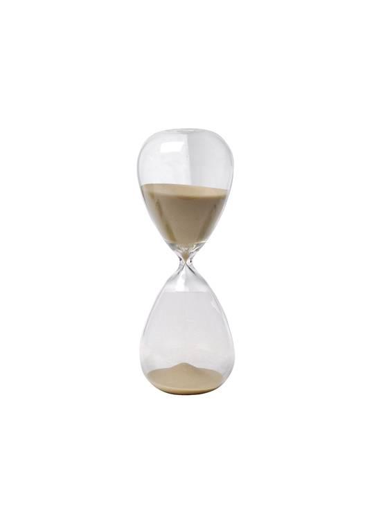 TAN SAND TIMER (15 MIN APPROX)