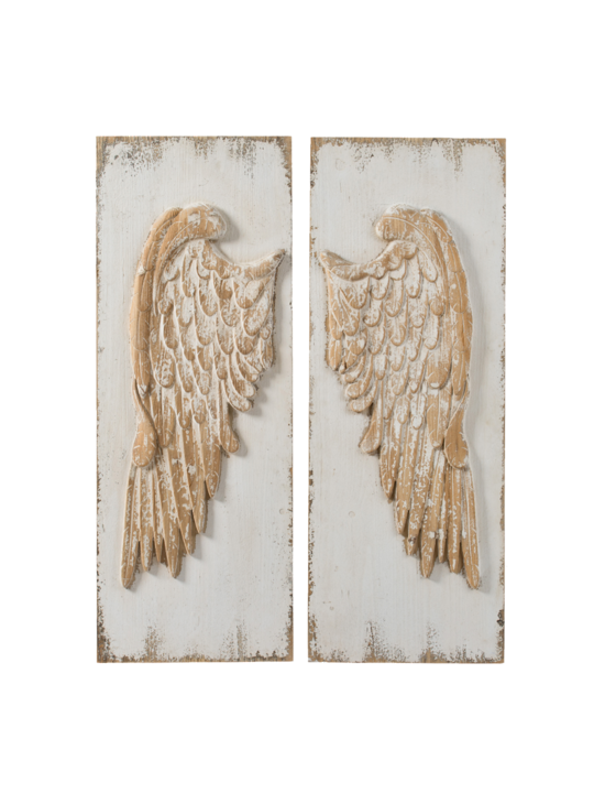 SET/2 ANGEL WINGS WALL DÉCOR