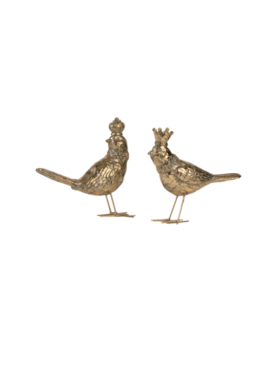 SET/2 KING & QUEEN BIRDS