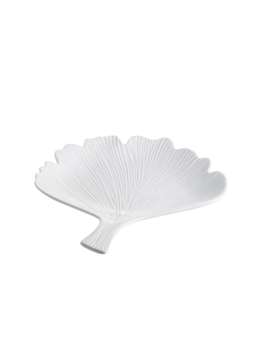 GINGKO LEAF DECORATIVE PLATTER - MIN 2