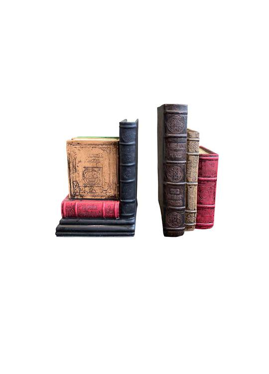 CLASSIC BOOK STYLE BOOKENDS