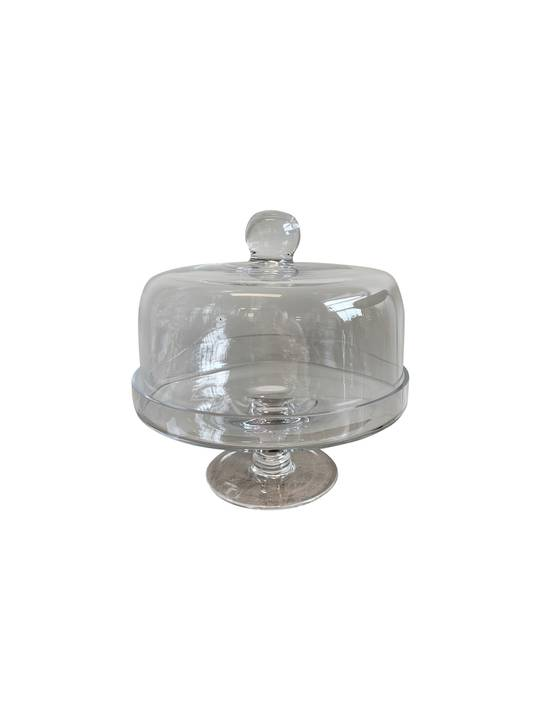 CAKE DOME ON STAND NARROW