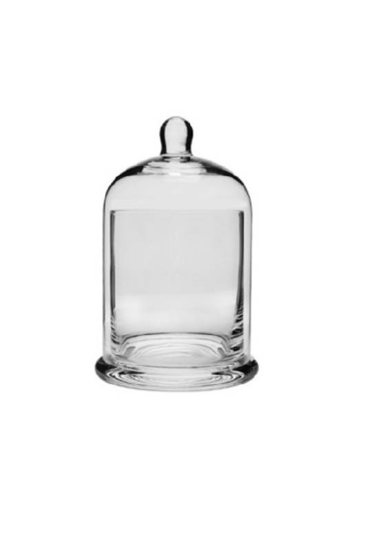 CONDIMENT GLASS HOLDER WITH DOME MED