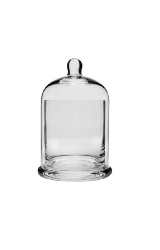 CONDIMENT GLASS HOLDER WITH DOME SML