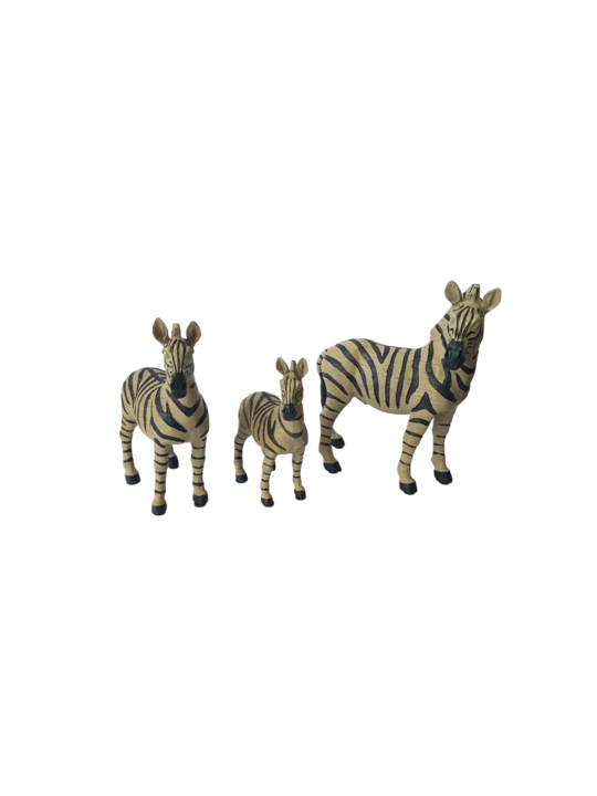 SET 3 ZEBRAS DECORATIVE
