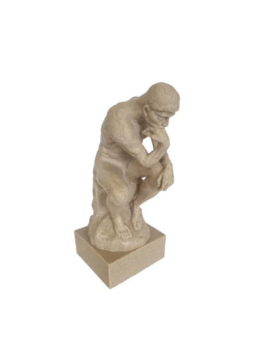 SANSTONE FIGURINE THE THINKER