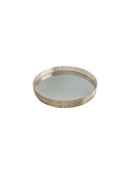 LUXE DECORATIVE TRAY ROUND