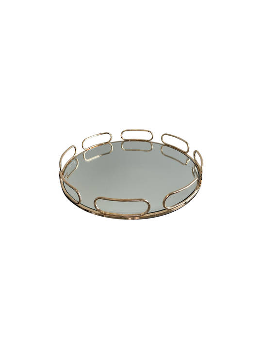 LUXE DECORATIVE TRAY WITH LOOPS