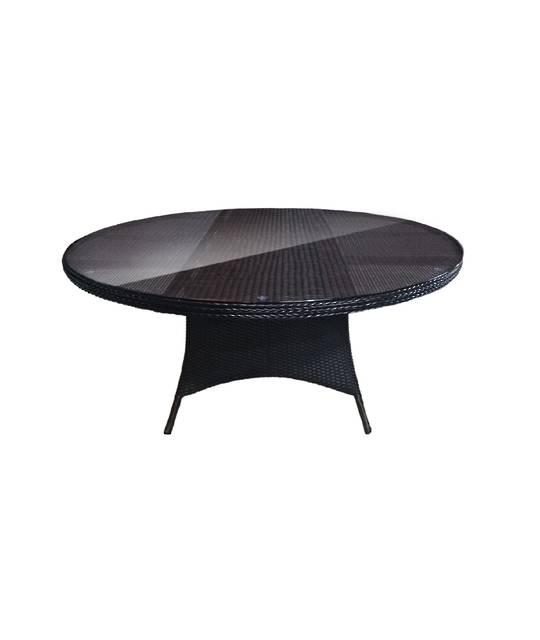 COAST ROUND WICKER DINING TABLE OUTDOOR