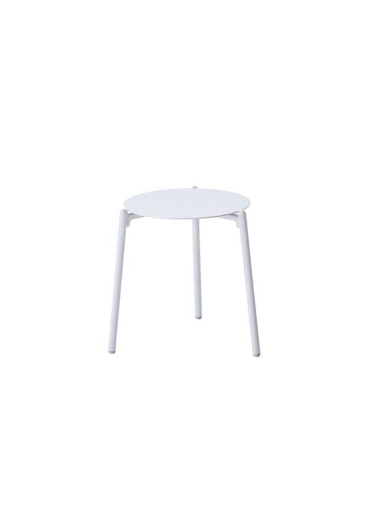 HAMPTON SIDE TABLE OUTDOOR WHITE