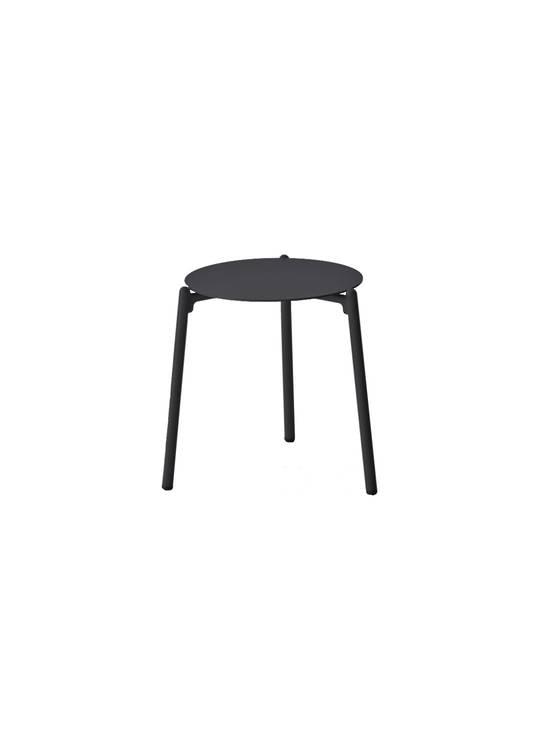 HAMPTON SIDE TABLE OUTDOOR BLACK