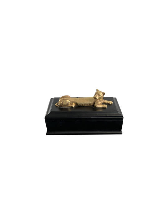 LUXE LIONESS STORAGE BOX