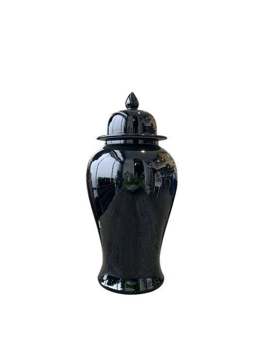 GINGER JAR BLACK LARGE