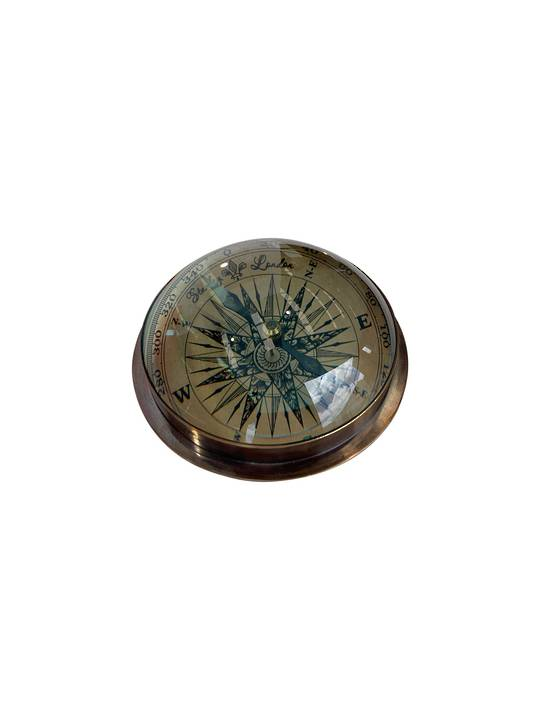 BRASS DOME COMPASS