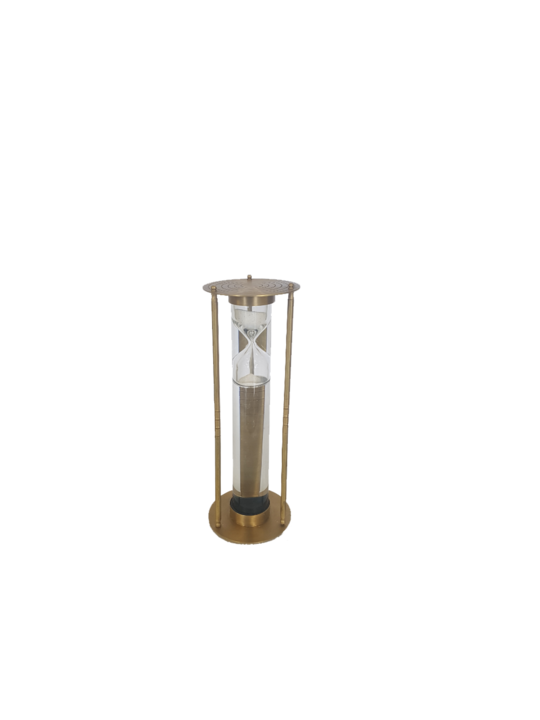 BRASS LIQUID SANDTIMER