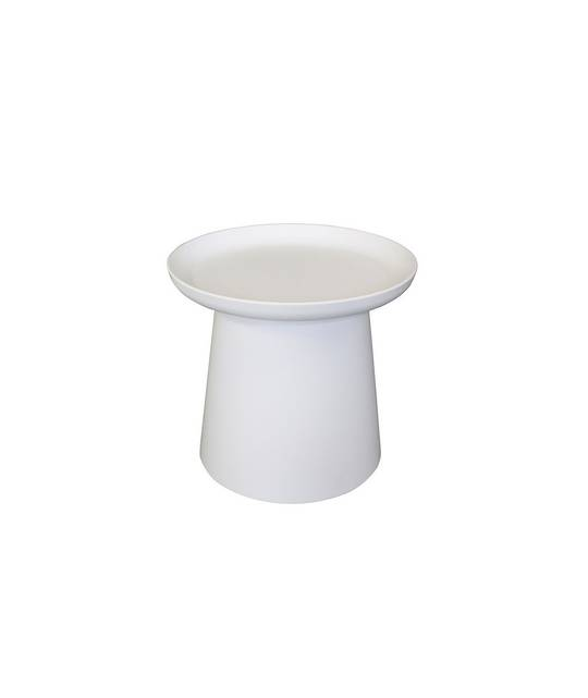 LOW ROMI SIDE TABLE WHITE
