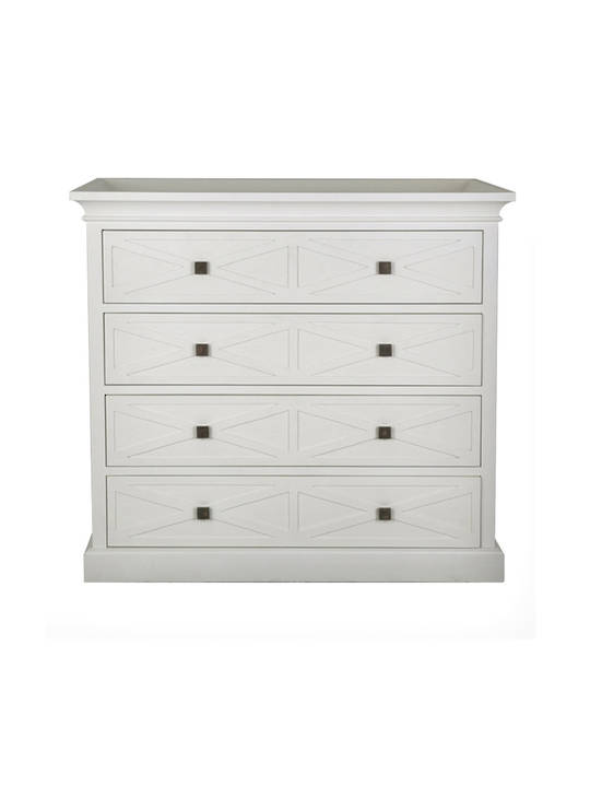 ISLAND LIFE COMMODE WHITE