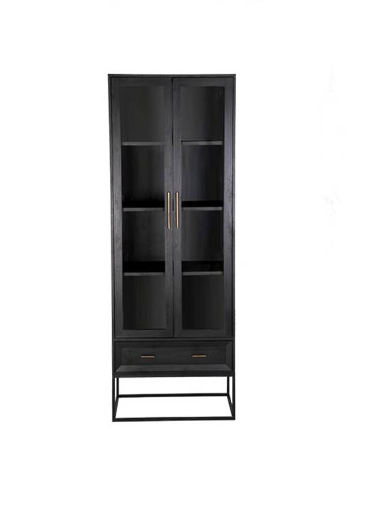 CHICAGO CABINET WITH METAL FRAME
