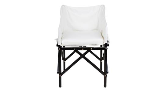 LONG ISLAND FOLDING DIRECTOR CHAIR CREAM