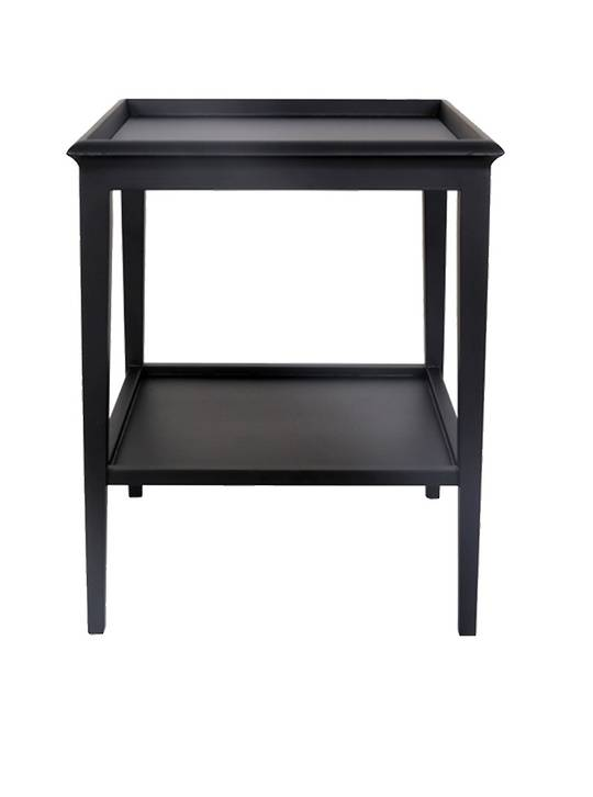 ISLAND LIFE LAMP TABLE BLACK