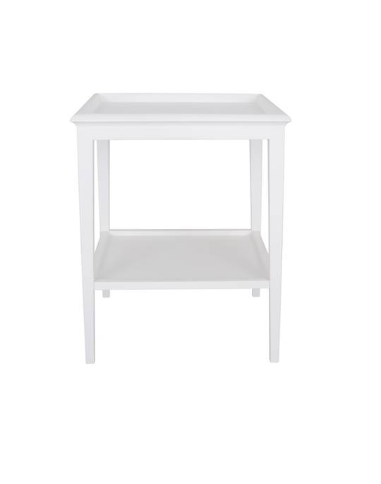 ISLAND LIFE LAMP TABLE WHITE