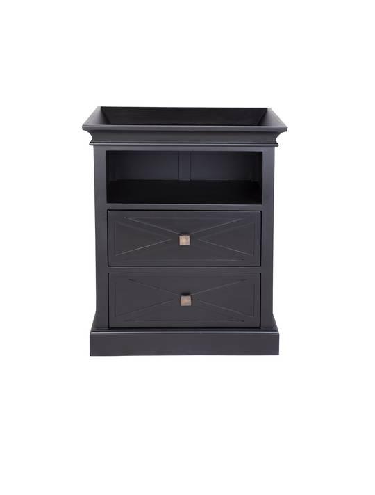 ISLAND LIFE SIDE TABLE BLACK