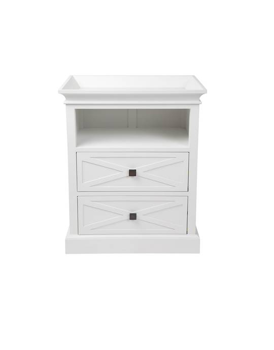 ISLAND LIFE SIDE TABLE WHITE