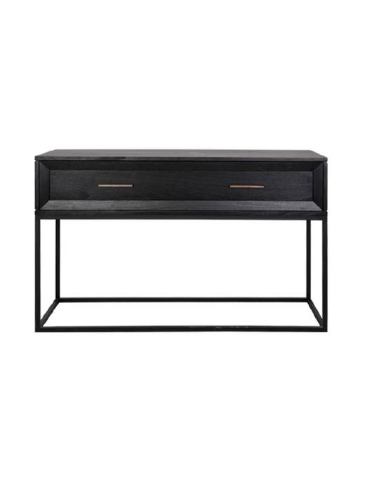 CHICAGO CONSOLE 1 DRAWER WITH METAL FRAME