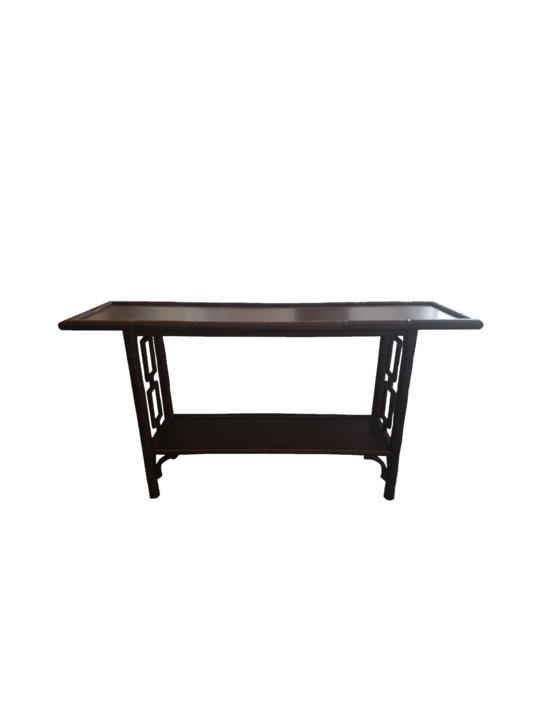 *PLANTATION MAHOGANY CONSOLE TABLE