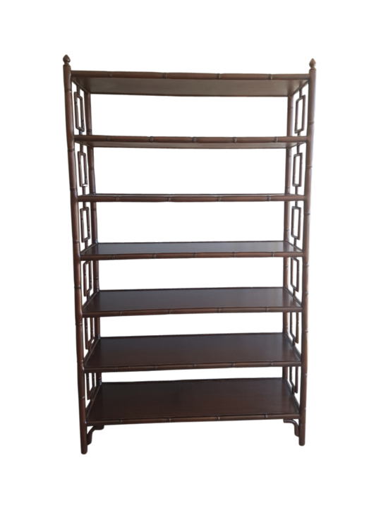 *PLANTATION MAHOGANY SHELVES