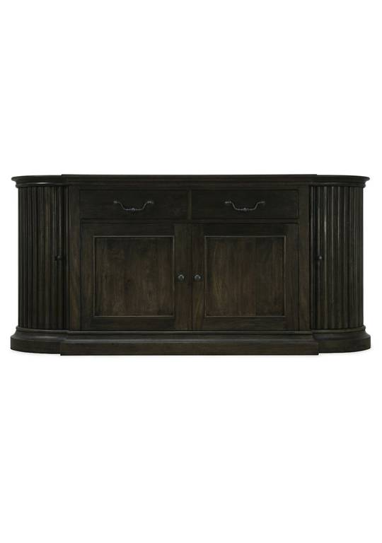 REGENCY SIDEBOARD WITH REEDED DETAIL