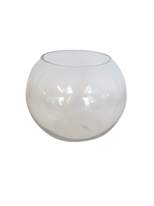 GLASS SPHERE VASE SMALL