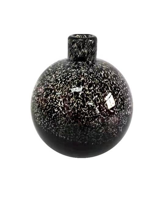 BLACK LEOPARD PRINT  BUD VASE - MIN 2