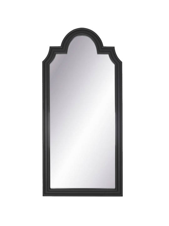 *SCALLOP MIRROR BLACK
