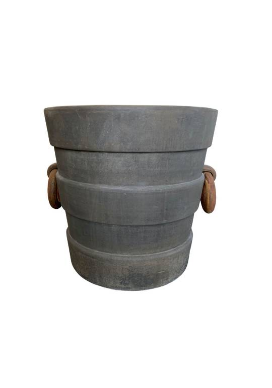 VILLA PLANTER WITH 2 HANDLES LGE