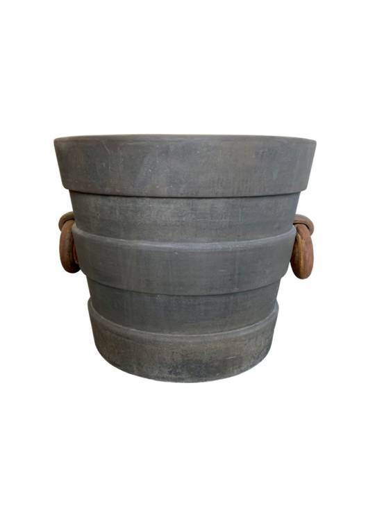 VILLA PLANTER WITH 2 HANDLES MED