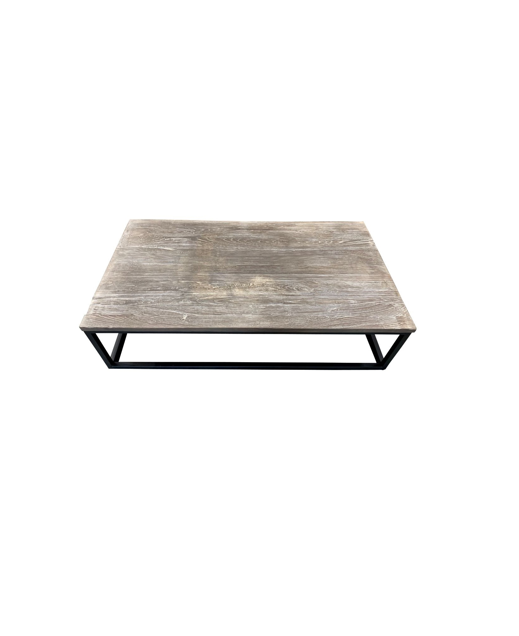 OUTDOOR COFFEE TABLE SQUARE FRAME