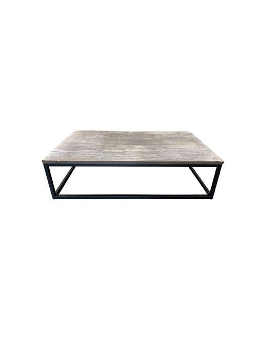 *OUTDOOR COFFEE TABLE SQUARE FRAME
