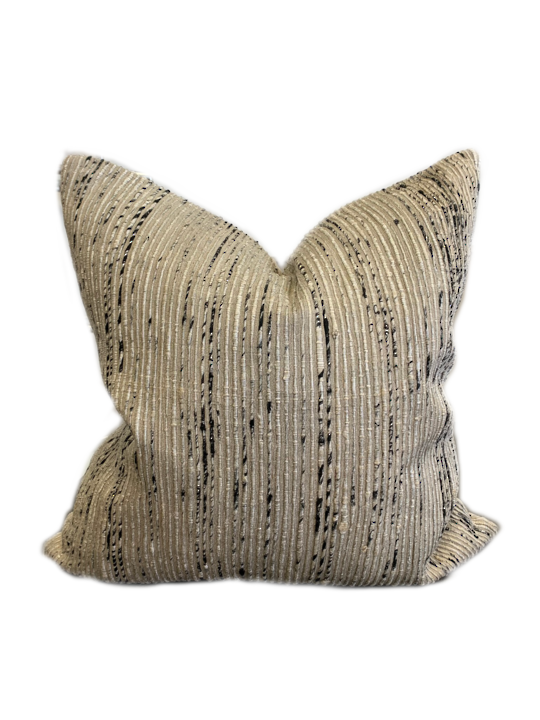 *PILLOW LOLOI P0242 SILVER/MULTI - COVER ONLY