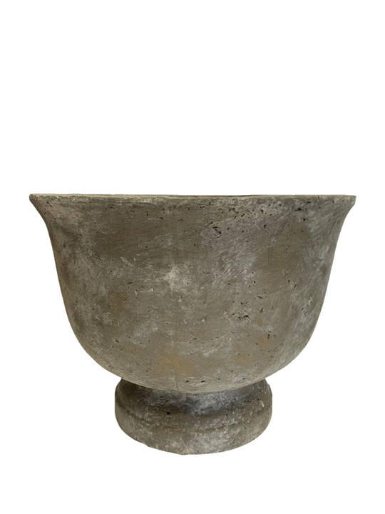 DEEP  BOWL WITH WINGED EDGES