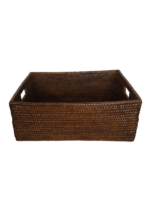 HIGH DOMESTIC BASKET WITH HANDGRIPS 50X40