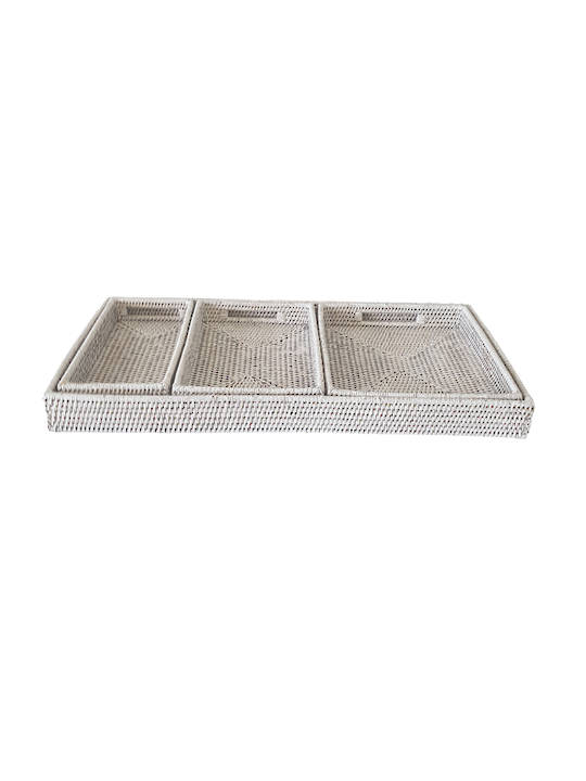 FOUR IN ONE SET OF TRAYS