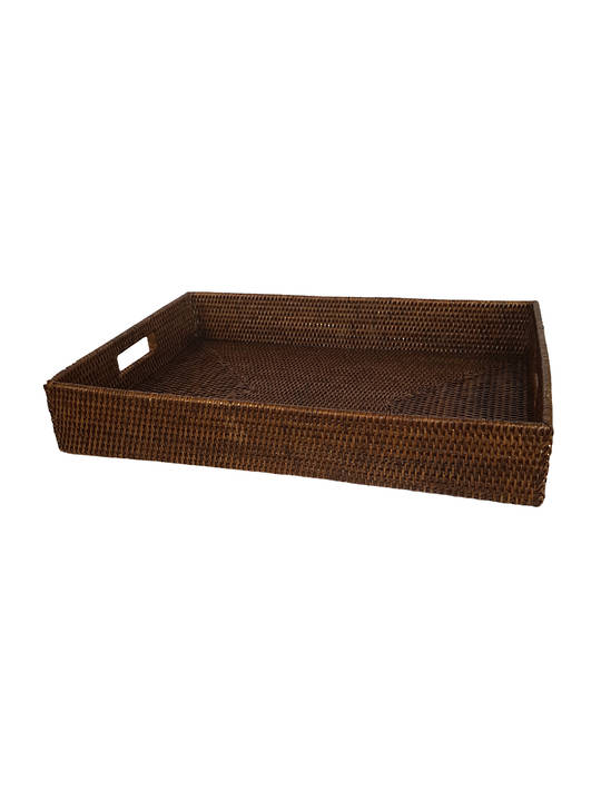 LOW DOMESTIC BASKET WITH HANDGRIPS