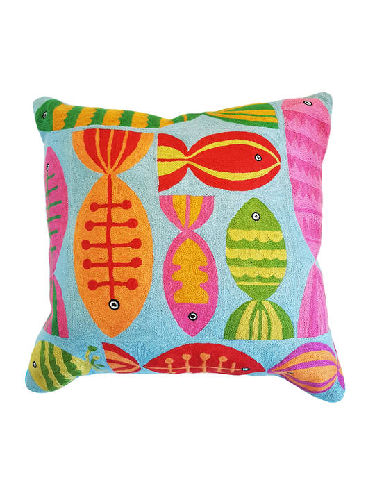 CUSHION COVER  FISH