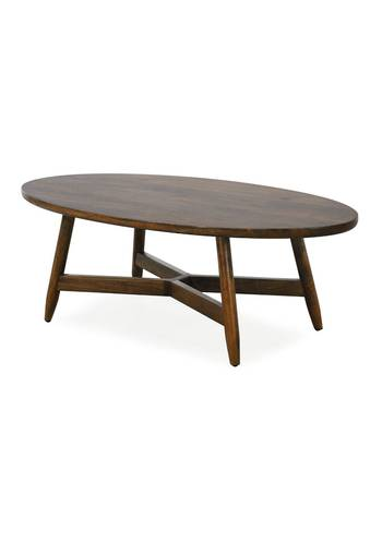 MALIBU OVAL COFFEE TABLE