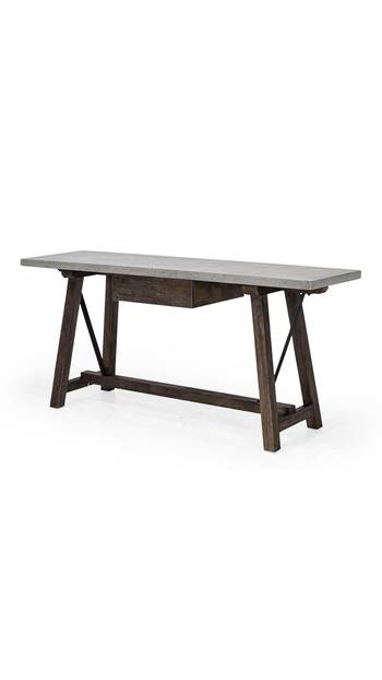 ST BARTS CONSOLE SPRUCE