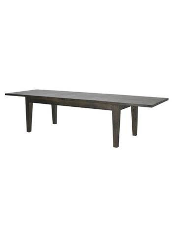 TOULOUSE DBLE EXT TABLE MANGO DARK BROWN