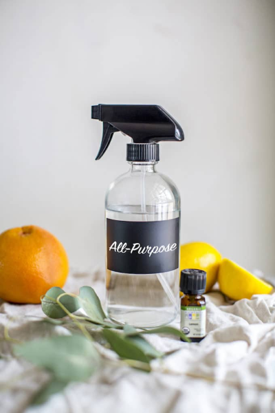 All-purpose homemade cleaning solution