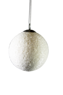 8CMD WHITE BEADED BALL HANGER (6)