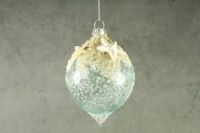 11CMH AQUA GLASS FINIAL WITH SAND AND STARFISH HANGER (6)